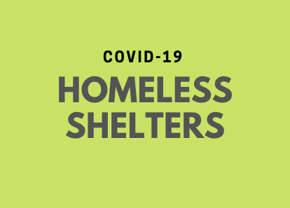 covid19 homeless shelters